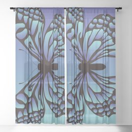 Butterfly Pattern_AAd Sheer Curtain