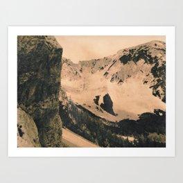 Ferata Slope Art Print