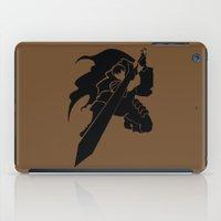 berserk iPad Cases featuring Gatsu by the minimalist