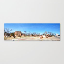 The Northeastern State University Campus - A Perspective Panorama Canvas Print