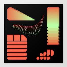 Interpolation - Composition 11 Canvas Print