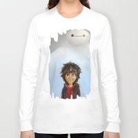 big hero 6 Long Sleeve T-shirts featuring Big Hero 6 by MikakoskArts