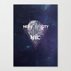 New York City V [pink] Canvas Print