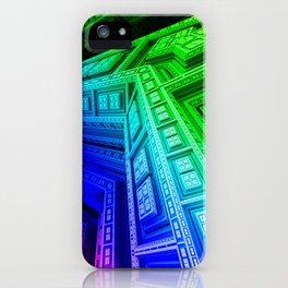 Sacred Temples of Annie Zen Meditation iPhone Case