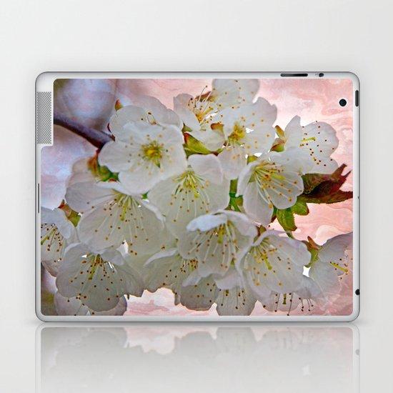 Cherry Blossom Laptop & iPad Skin