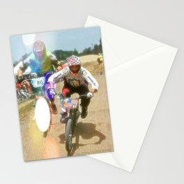 s&m bikes racer Stationery Cards