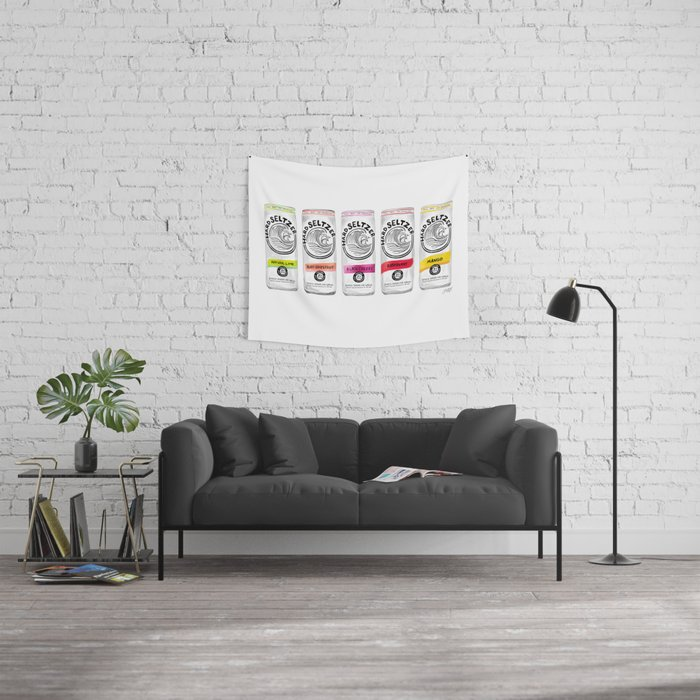 White Claw illustration Wall Tapestry