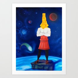 Nebuchadnezzar's Dream  Art Print