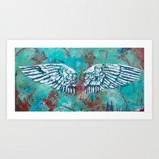 Created to Soar Art Print