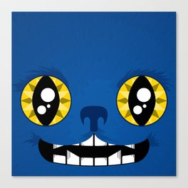 Adorable Beast Canvas Print