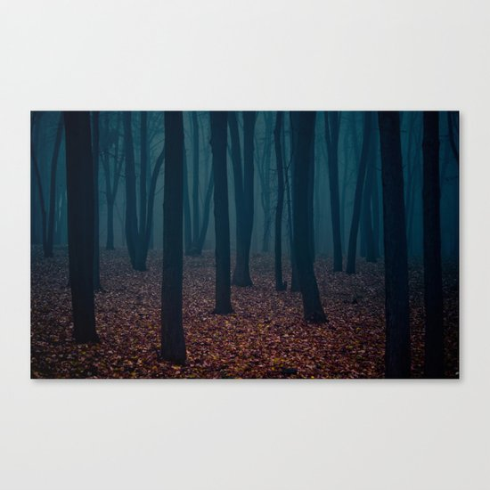WITCHES FOREST Canvas Print