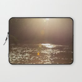 Sun light at Kinabatangan river, Borneo, Malaysia Laptop Sleeve