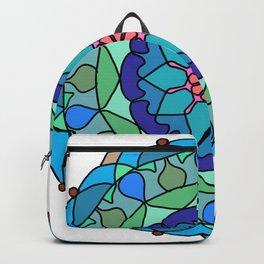 Beautiful decorative mandala Backpack