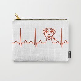 Plastic Surgeon Heartbeat Carry-All Pouch