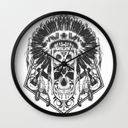 Indians v.2 Wall Clock