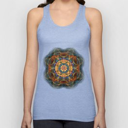 The Sri Yantra - Sacred Geometry Unisex Tank Top