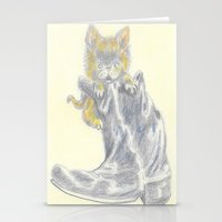 mew Stationery Cards featuring Mew by Connie Campbell