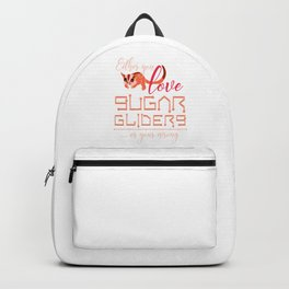 Sugar Glider Lover Backpack
