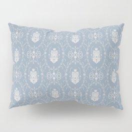 Grey damask pattern Pillow Sham
