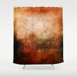 Abstract Cave II Shower Curtain