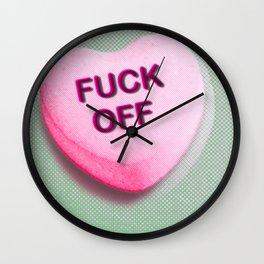 Heart Series Love Candy Hearts Wall Clock