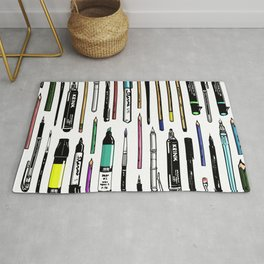 Pent Up Creativity (Color) Rug