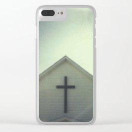Church + Sky Clear iPhone Case