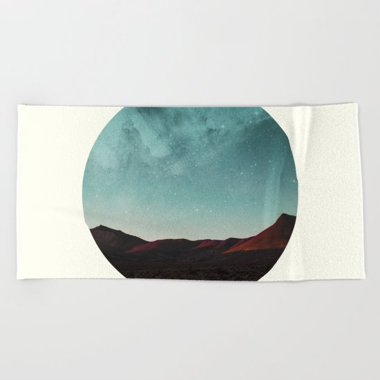 Universe remedy Beach Towel
