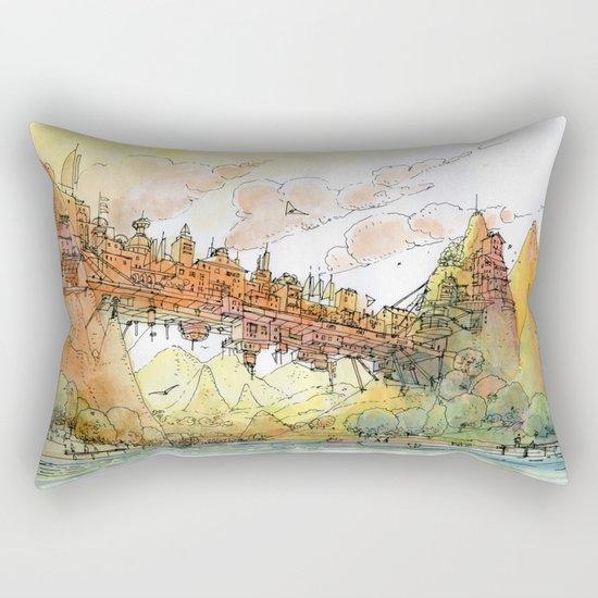 La Citta' Ponte Rectangular Pillow