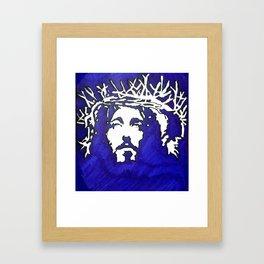 4b-Jesus-Ink Framed Art Print