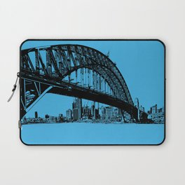 sydney in blue Laptop Sleeve
