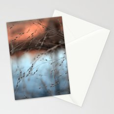 evening hush.  Stationery Cards