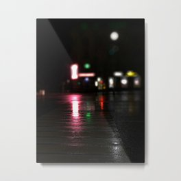 The crosswalk Metal Print