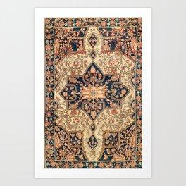 Ferahan  Antique West Persian Rug Print Art Print