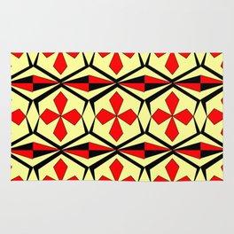 symetric patterns 59 -mandala,geometric,rosace,harmony,star,symmetry Rug