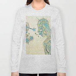 Seeing (Blue Detail) Long Sleeve T-shirt
