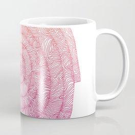 color gradient spiral Coffee Mug