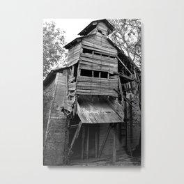Old Building Metal Print