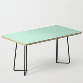 Mint Green Coffee Table