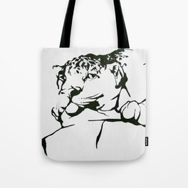 Leopard In(tro)spection Tote Bag