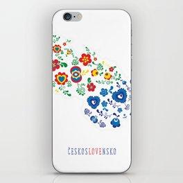 českosLOVEnsko iPhone Skin