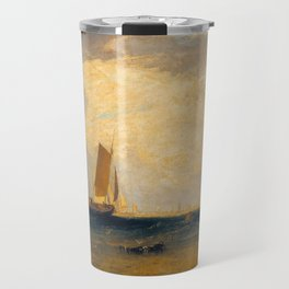 "J.M.W. Turner ""Fishing upon the Blythe-Sand, Tide Setting In"" Travel Mug"