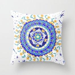 Star Garden Throw Pillow