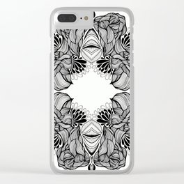 Infinity #1 Clear iPhone Case