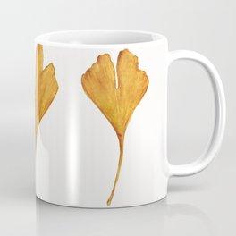 Three Ginkgo Leaves Coffee Mug