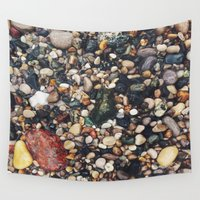 rocky Wall Tapestries featuring Rocky Shore by Alexandra Str