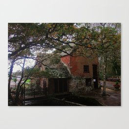 MILLPLACE WATER MILL Canvas Print