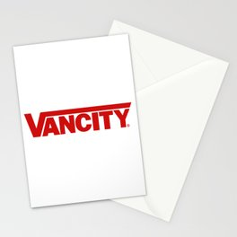 VANCITY Stationery Cards