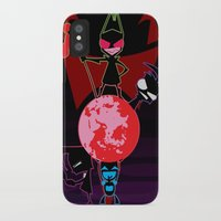 invader zim iPhone & iPod Cases featuring Invader Zim by Toyosato