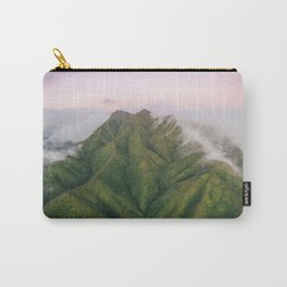 Clouds over the Koʻolau Mountains on Oahu Carry-All Pouch